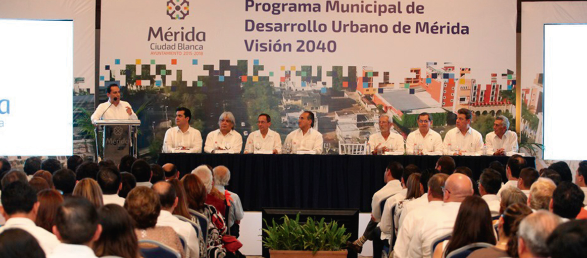 Municipal Program for the Urban Development of Mérida Program (PMDUM)