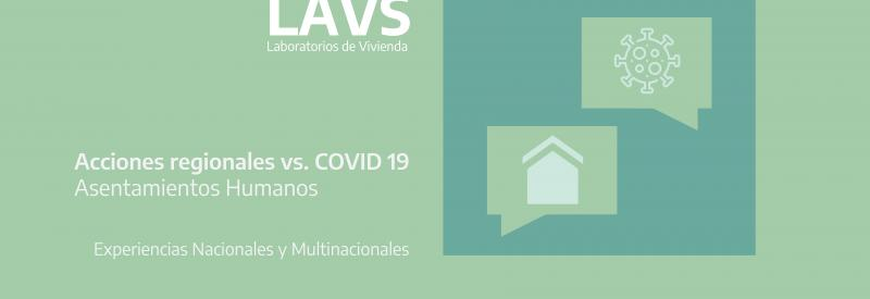 Final Report LAV Regional Actions vs. COVID 19 Human Settlements